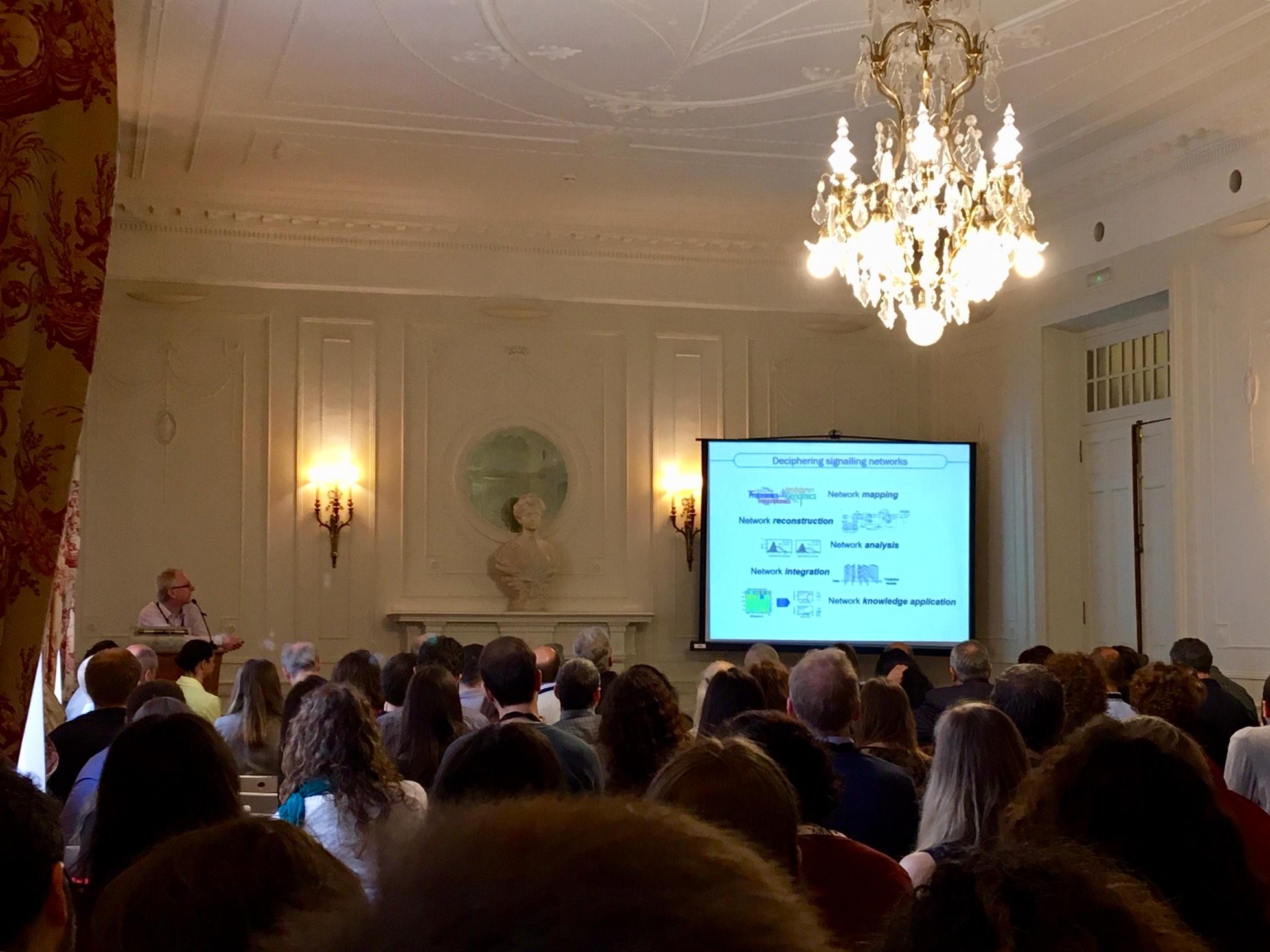 """UCD's Walter Kolch presents COLOSSUS at """"RAS superfamily"""" symposium"""